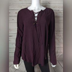 Cloth & Stone Lace Up Tunic
